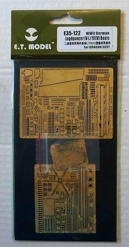 E.T. MODEL 1/35 E35-122 WWII GERMAN JAGDPANZER IV L/70 v  BASIC