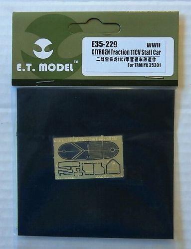 E.T. MODEL 1/35 E35229 WWII CITROEN TRACTION 11CV STAFF CAR