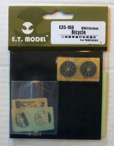 E.T. MODEL 1/35 E35166 WWII GERMAN BICYCLE