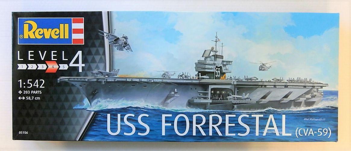 REVELL 1/542 05156 USS FORRESTAL