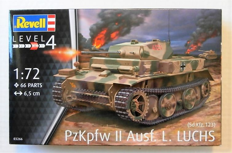 REVELL 1/72 03266 PzKpfw II Ausf.L LUCHS