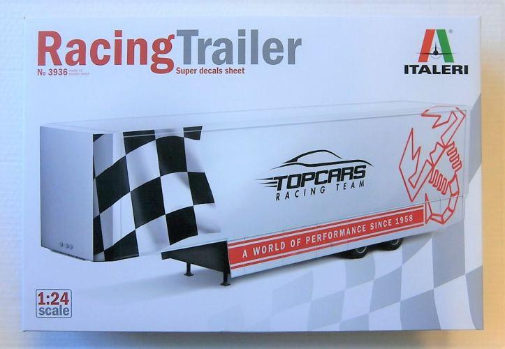 ITALERI 1/24 3936 RACING TRAILER