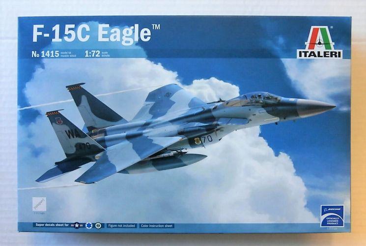 ITALERI 1/72 1415 F-15C EAGLE