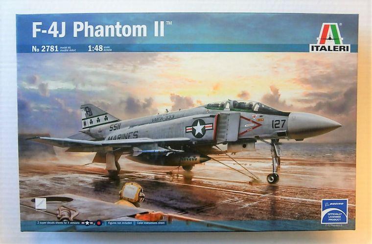 ITALERI 1/48 2781 F-4J PHANTOM II
