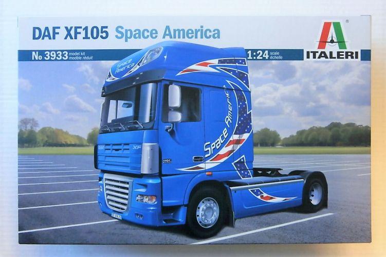 ITALERI 1/24 3933 DAF XF105 SPACE AMERICA