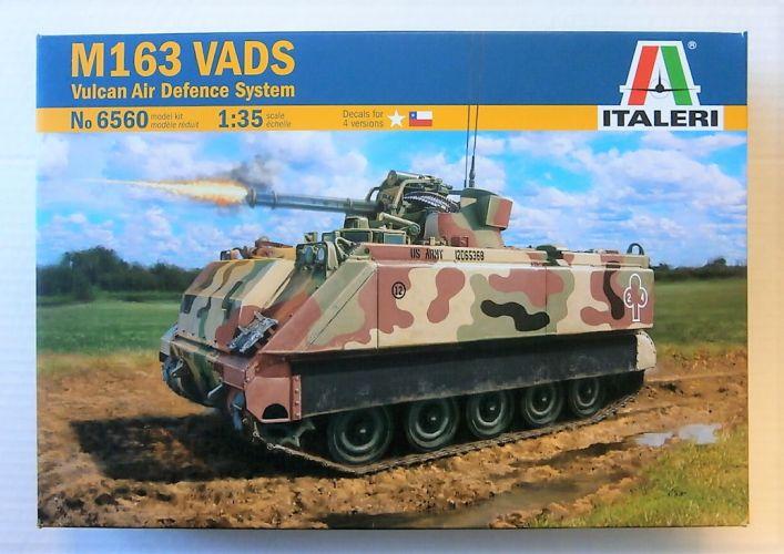 ITALERI 1/35 6560 M163 VADS VULCAN AIR DEFENCE SYSTEM