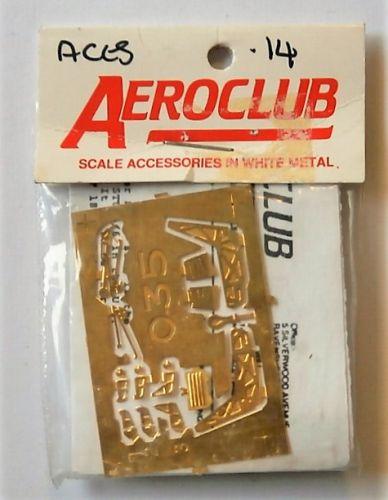 AEROCLUB 1/72 EJ035 NACES MK-14 EJECTION SEAT