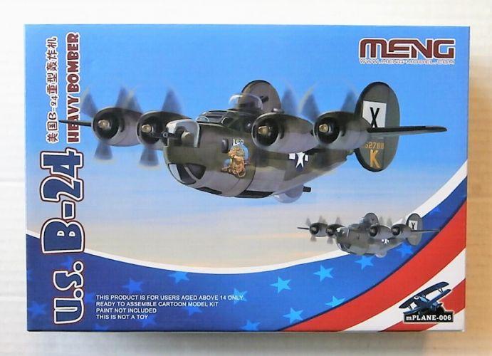 MENG  006 U.S. B-24 HEAVY BOMBER