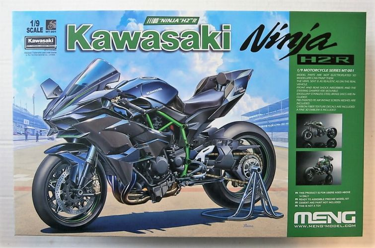 MENG 1/9 MT-001 KAWASAKI NINJA H2R