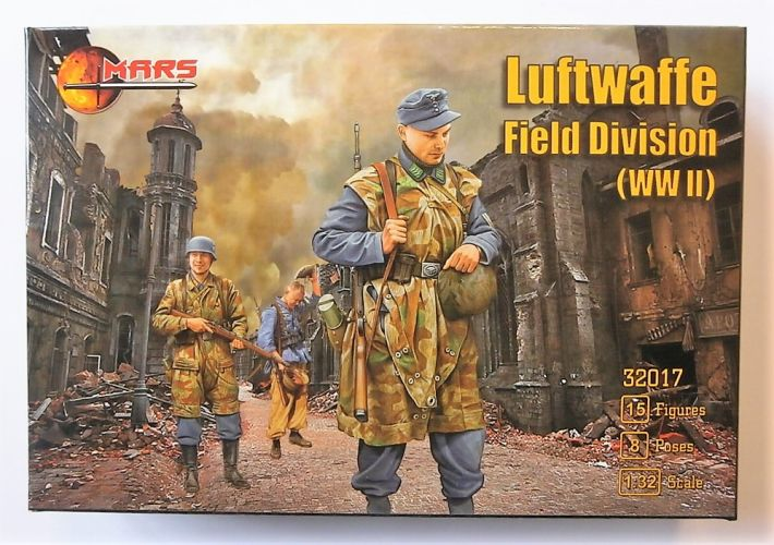 MARS 1/32 32017 LUFTWAFFE FIELD DIVISION WWII