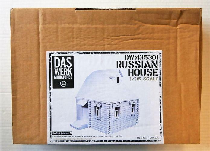 DAS WERK 1/35 35301 RUSSIAN HOUSE