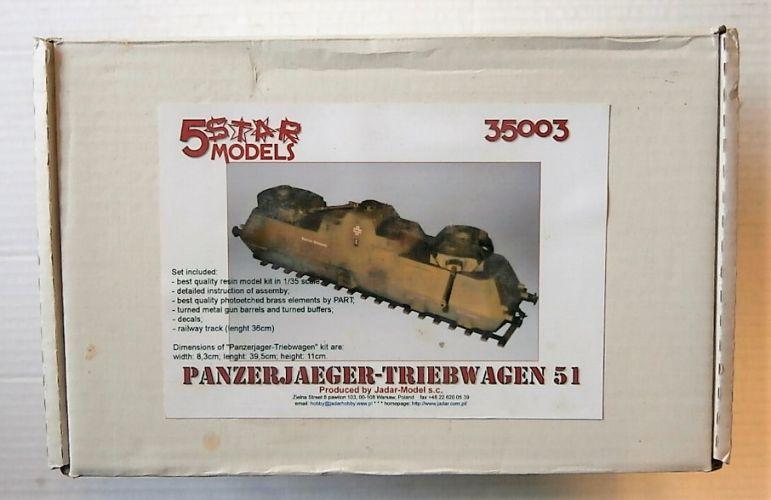 JADAR MODEL 1/35 35003 PANZERJAGER-TRIEBWAGEN 51