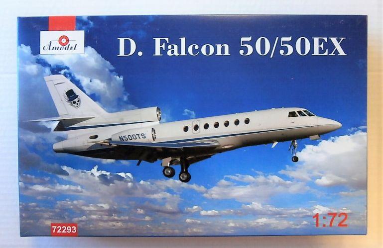 A MODEL 1/72 72293 DASSAULT FALCON 50/50EX