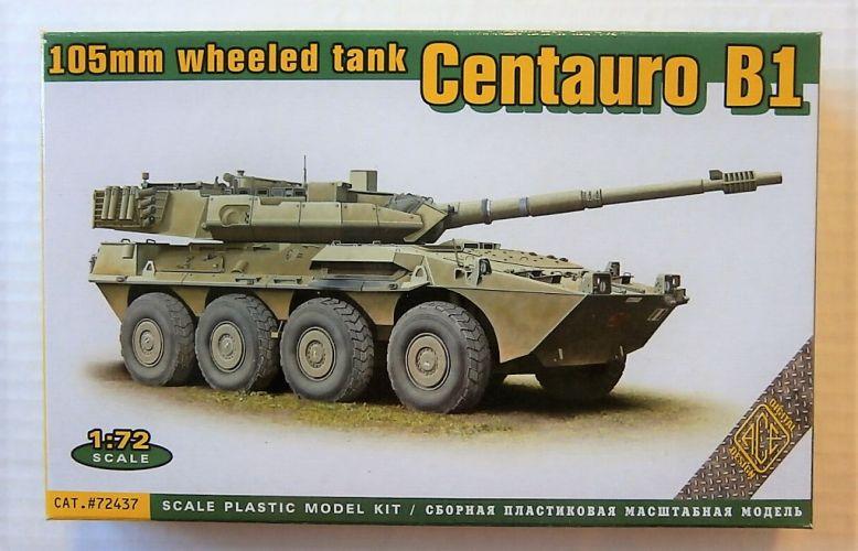 ACE 1/72 72437 CENTAURO B1 105mm WHEELED TANK