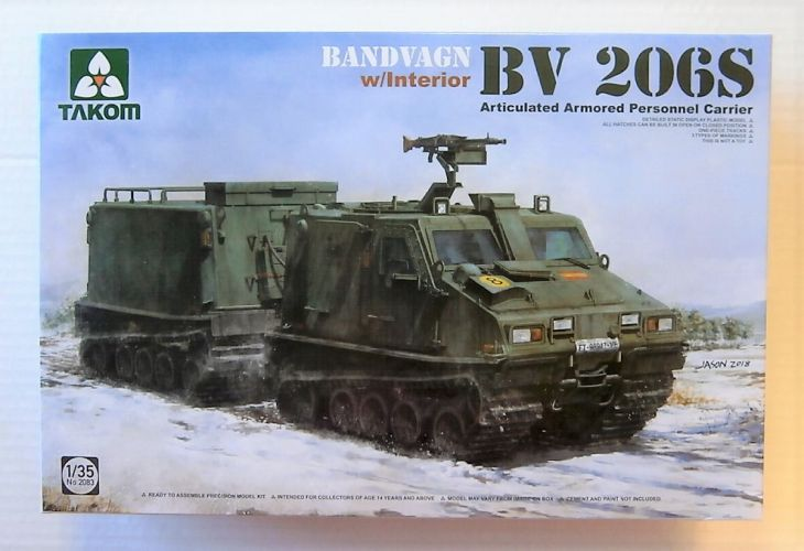 TAKOM 1/35 2083 BV 206S BANDVAGN WITH INTERIOR