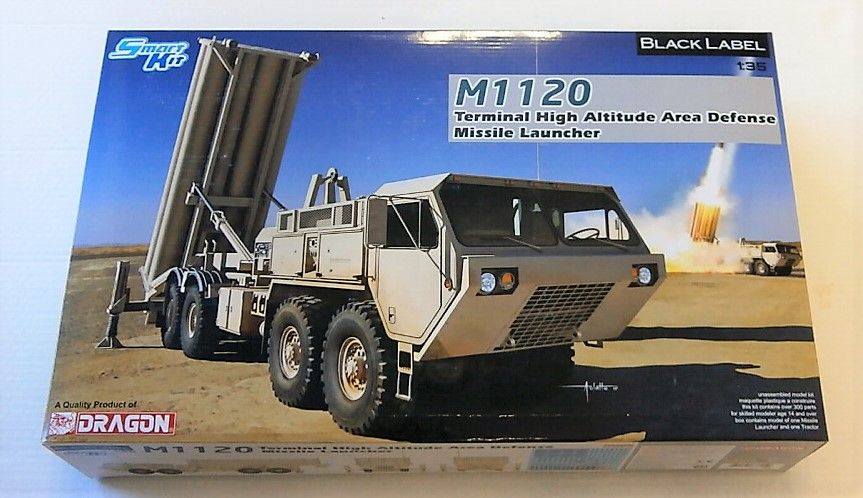 DRAGON 1/35 3605 M1120 TERMINAL HIGH ALTITUDE AREA DEFENCE MISSILE LAUNCHER  UK SALE ONLY
