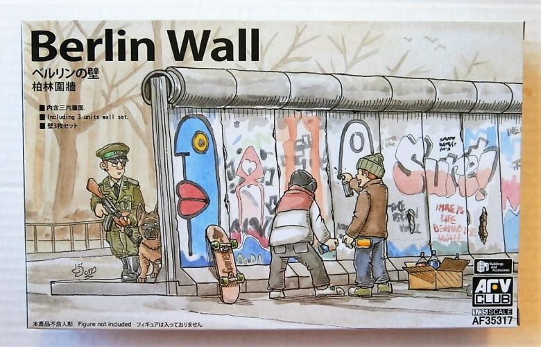 AFV CLUB 1/35 35317 BERLIN WALL  3 SECTIONS