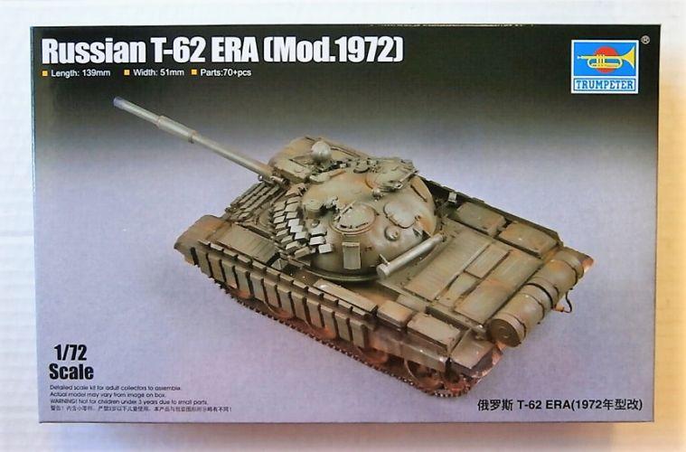 TRUMPETER 1/72 07149 RUSSIAN T-62 ERA  MOD.1972