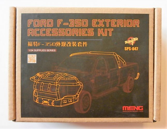 MENG 1/24 SPS-047 FORD F-350 EXTERIOR ACCESSORIES KIT