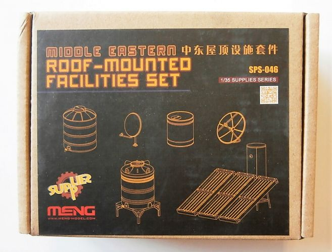 MENG 1/35 SPS-046 MIDDLE EASTERN ROOF-MOUNTED FACILITIES SET