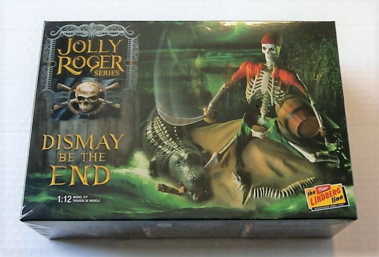 LINDBERG 1/12 611 JOLLY ROGER SERIES DISMAY BE THE END