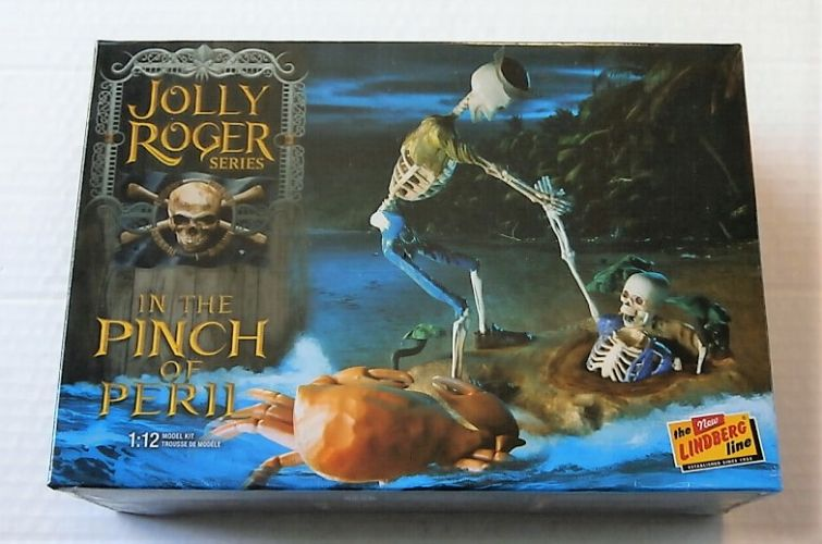 LINDBERG 1/12 612 JOLLY ROGER SERIES IN THE PINCH OF PERIL