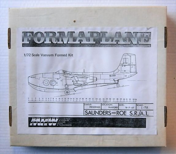 FORMAPLANE 1/72 SAUNDERS-ROE S.R./A.1.