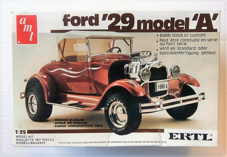 AMT 1/25 6572 1929 FORD MODEL A