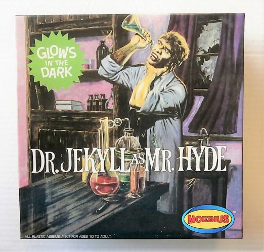 MOEBIUS  482 GLOW IN THE DARK DR.JEKYLL AS MR.HYDE