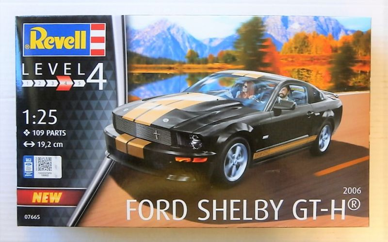 REVELL 1/25 07665 2006 FORD SHELBY GT-H