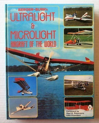 CHEAP BOOKS  ZB3012 BERGER-BURRS ULTRALIGHT   MICROLIGHT AIRCRAFT OF THE WORLD