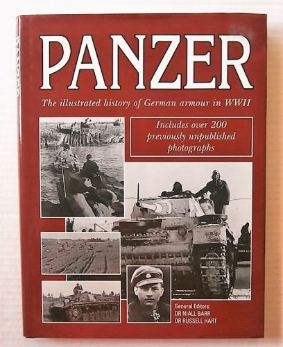 CHEAP BOOKS  ZB3029 PANZER - THE ILLUSTRATED HISTORY OF GERMAN ARMOUR IN WWII