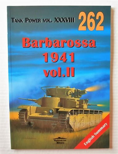 CHEAP BOOKS  ZB3047 WYDAWNICTWO MILITARIA 262 BARBAROSSA 1941 VOL II  POLISH TEXT AND ENGLISH CAPTIONS