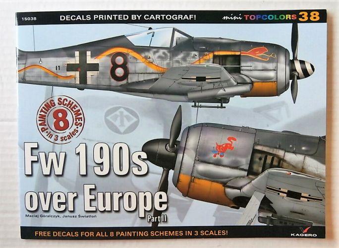 CHEAP BOOKS  ZB3049 MINI TOPCOLORS 38 - FW 190s OVER EUROPE PART II