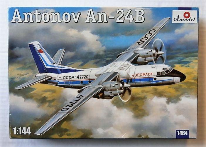 A MODEL 1/144 1464 ANTONOV AN-24B
