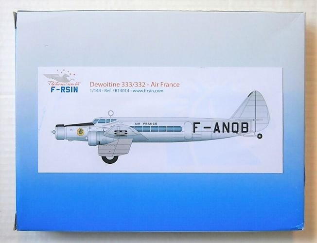 F-RSIN 1/144 14014 DEWOITINE 33/332 AIR FRANCE