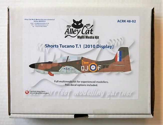 ALLEY CAT 1/48 4802 SHORTS TUCANO T.1 2010 DISPLAY