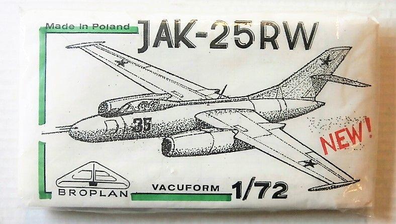 BROPLAN 1/72 YAK-25RW