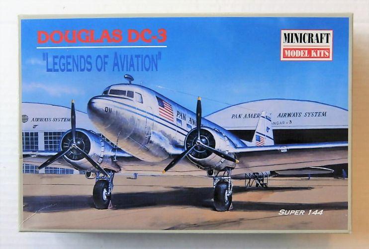 MINICRAFT 1/144 14434 DOUGLAS DC-3 PAN AM