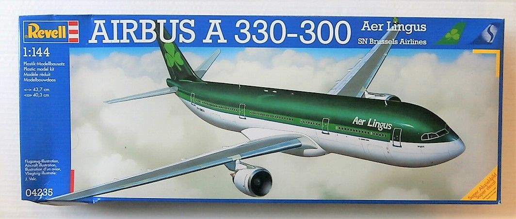 REVELL 1/144 04235 AIRBUS A330-300 AER LINGUS BRUSSELS AIRLINES