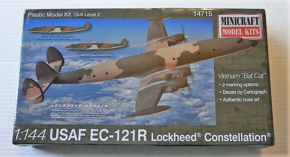 MINICRAFT 1/144 14715 LOCKHEED USAF EC-121R CONSTELLATION