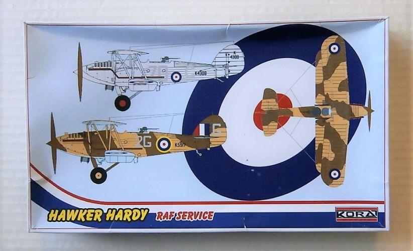 KORA 1/72 72177 HAWKER HARDY RAF SERVICE