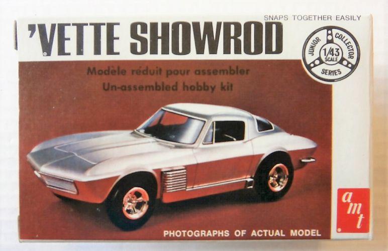 AMT 1/43 T103 CORVETTE SHOWROD
