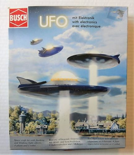 BUSCH  1010 UFO WITH ELECTRONICS