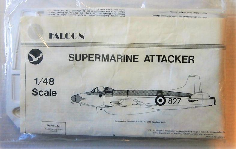 FALCON 1/48 SUPERMARINE ATTACKER