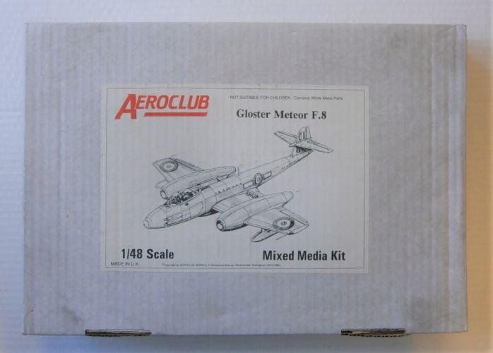 AEROCLUB 1/48 GLOSTER METEOR F.8