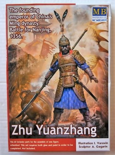 MASTERBOX 1/24 24059 ZHU YUANZHANG THE FOUNDING EMPEROR OF CHINAS MING DYNASTY -0 BATTLE FOR NANJING 1356