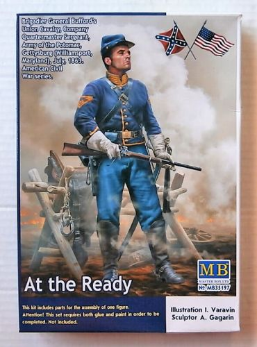MASTERBOX 1/35 35197 AT THE READY BUFFORDS UNION CAVALRY