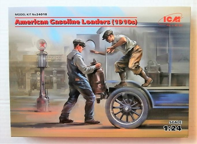 ICM 1/24 24018 AMERICAN GASOLINE LOADERS  1910s
