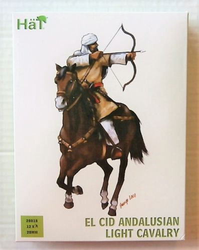 HAT INDUSTRIES 28mm 28018 EL CID ANDALUSIAN LIGHT CAVALRY